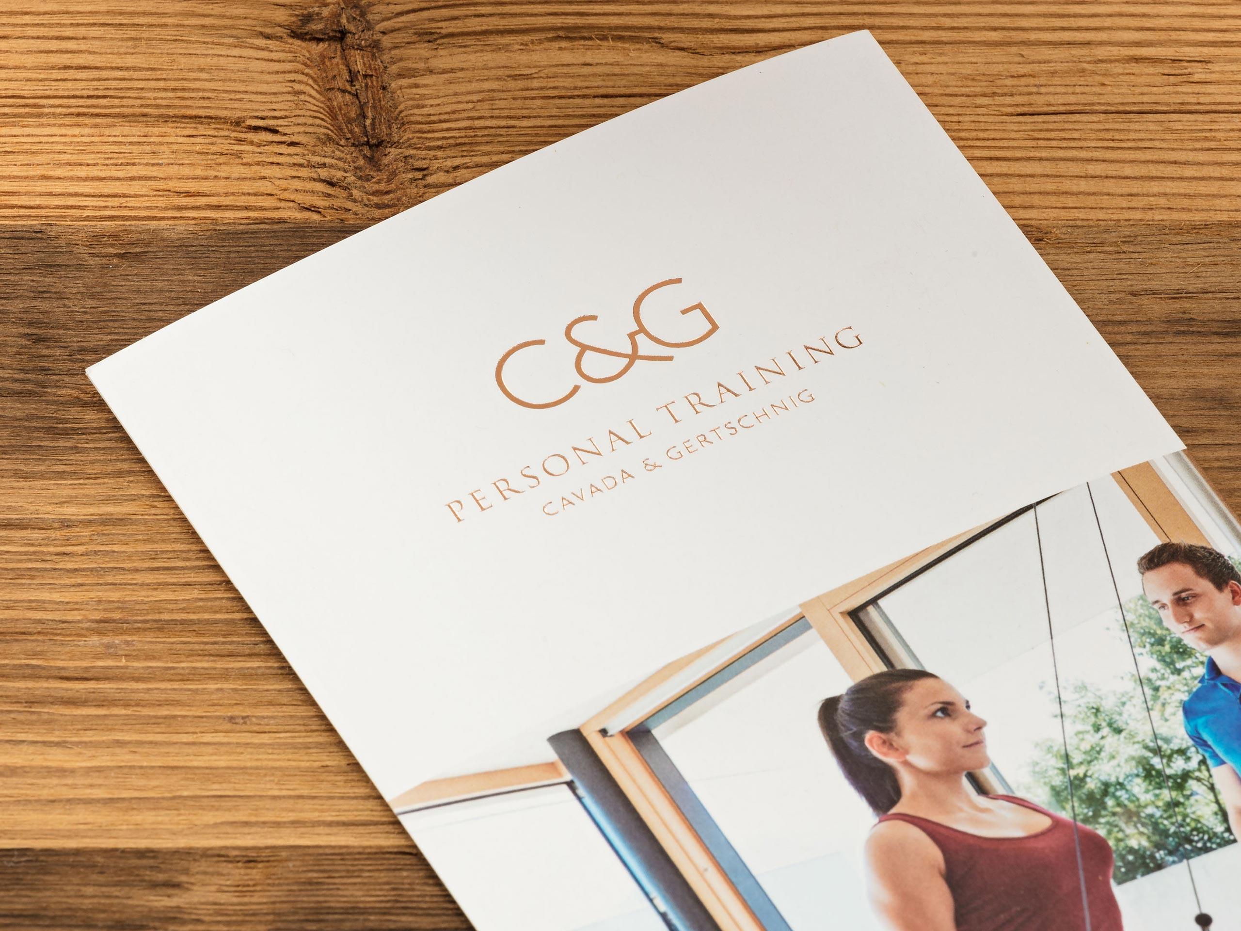 C & G – Broschüre – Detail