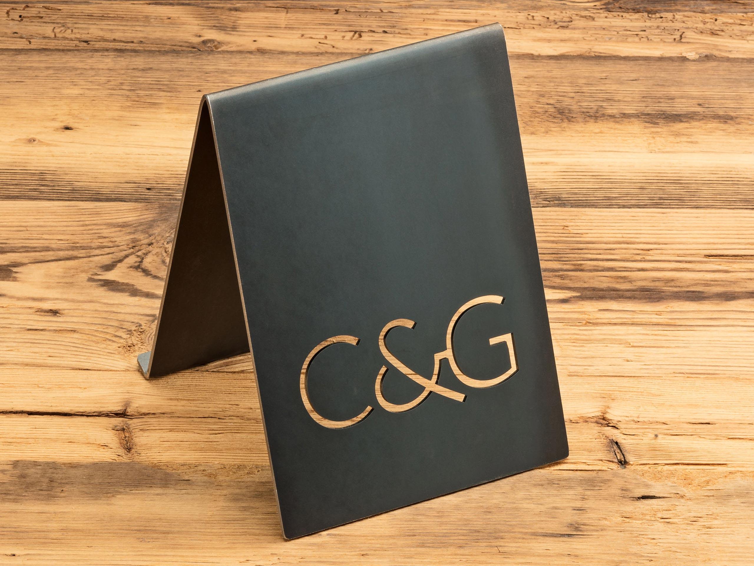 C & G – Aufsteller
