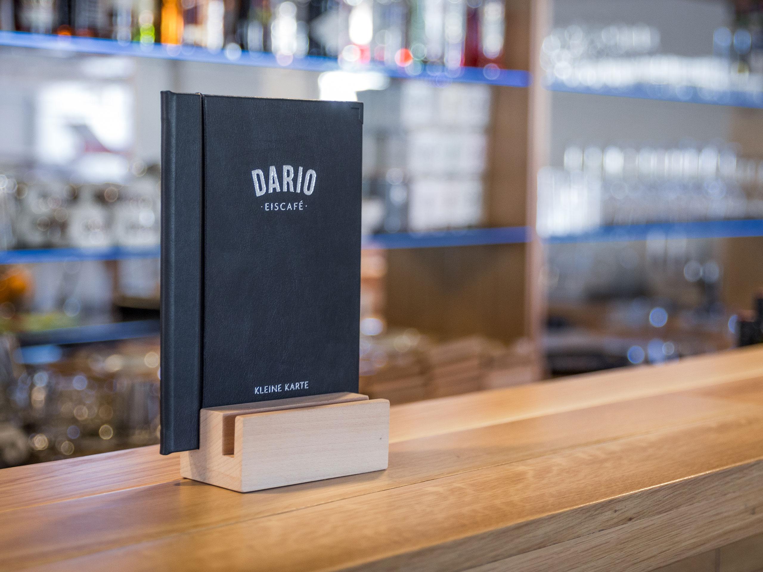 Dario Eiscafé – Kleine Karte