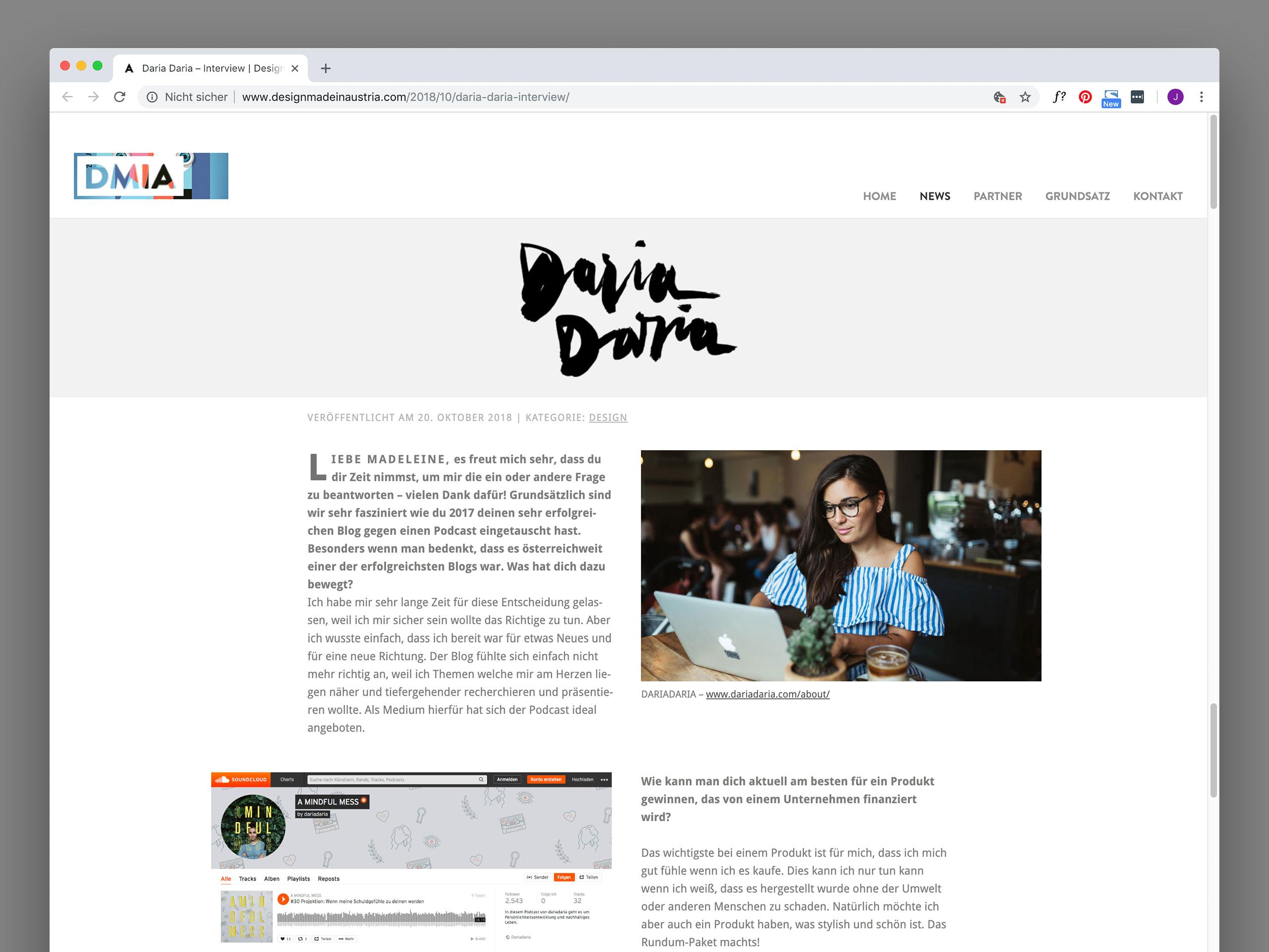 Daria Daria – Interview