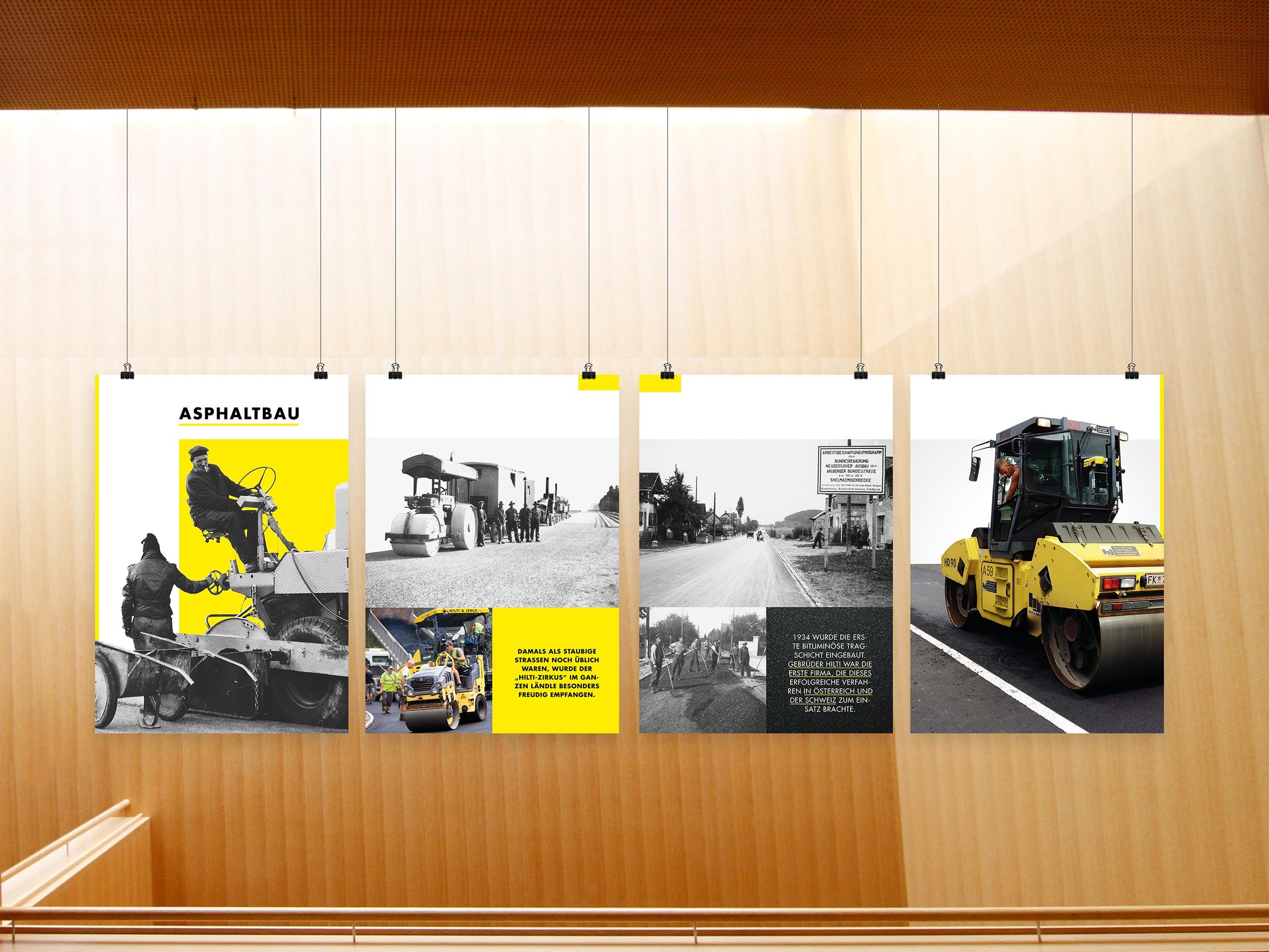Hilti & Jehle – Plakatreihe – Asphaltbau