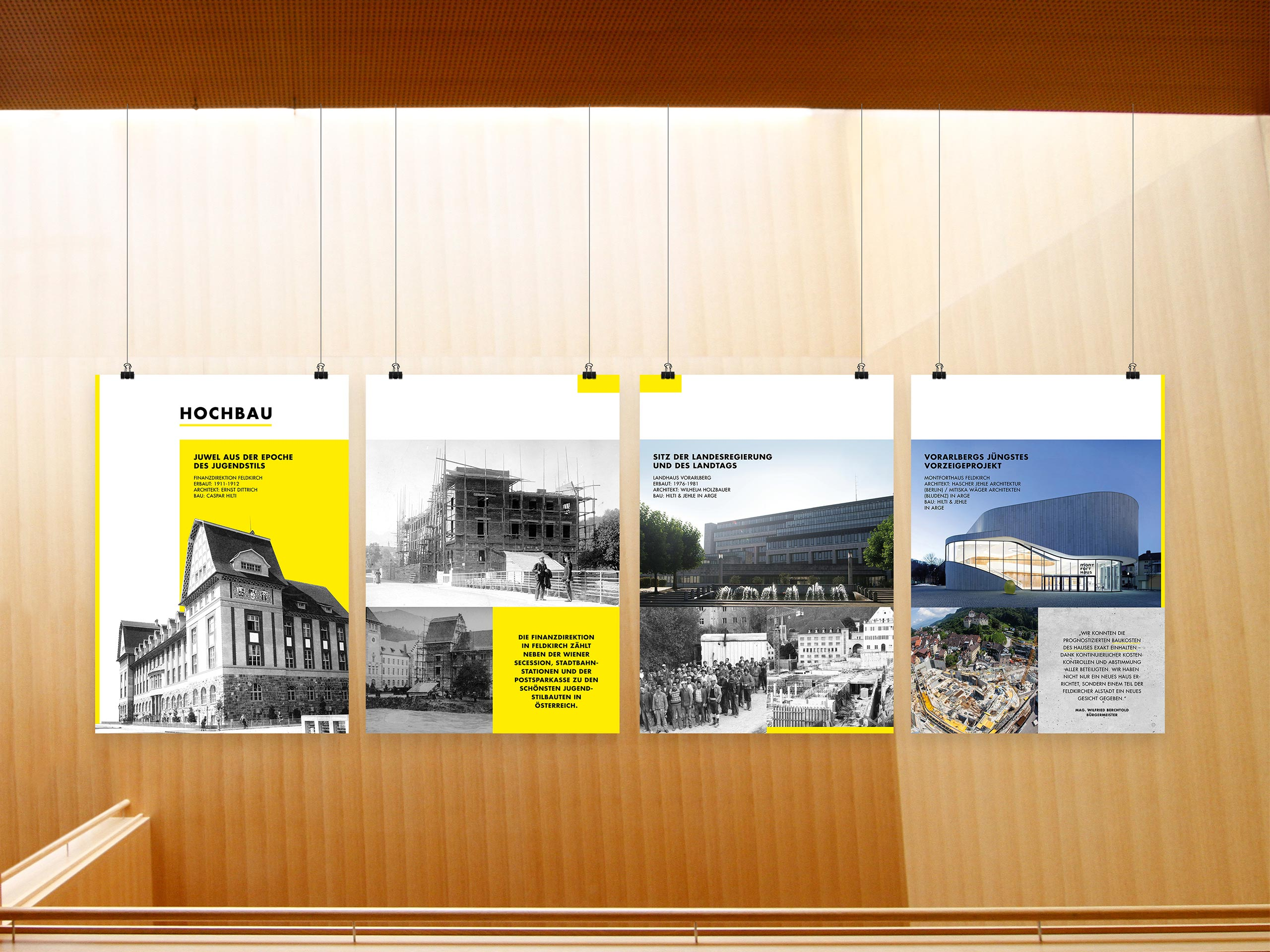 Hilti & Jehle – Plakatreihe – Hochbau