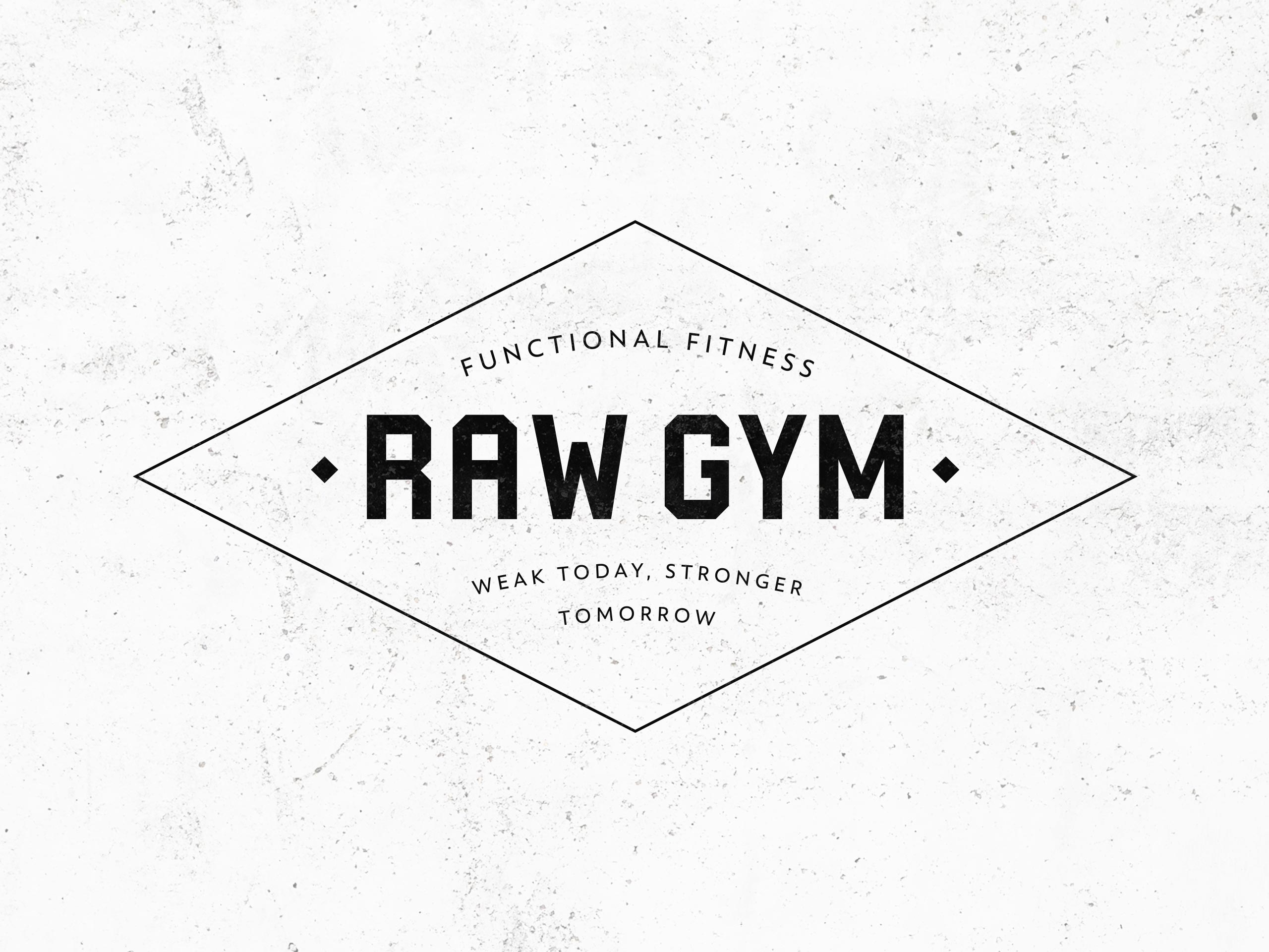 RAW Gym – Logo