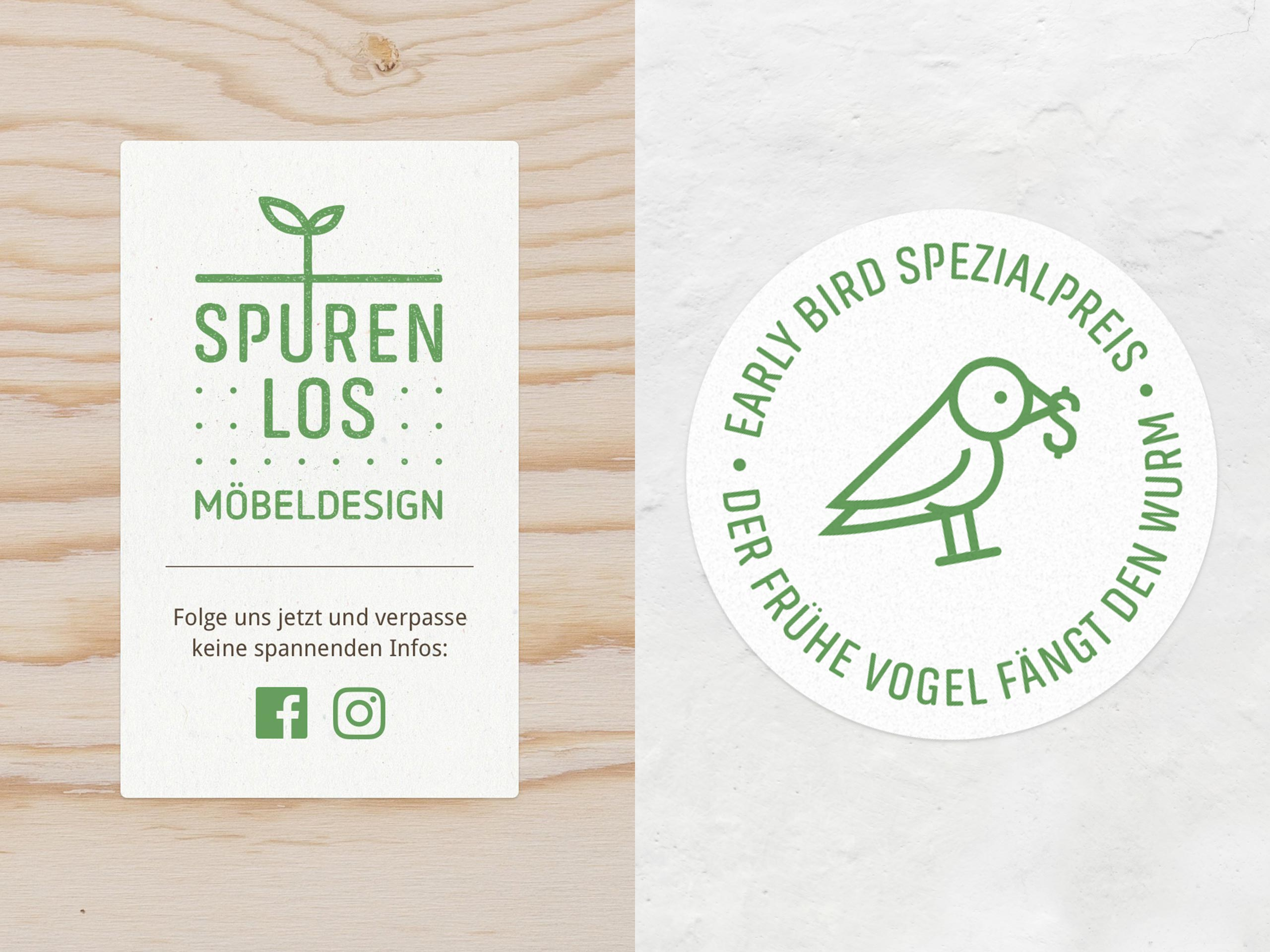 Spurenlos Möbeldesign Badges