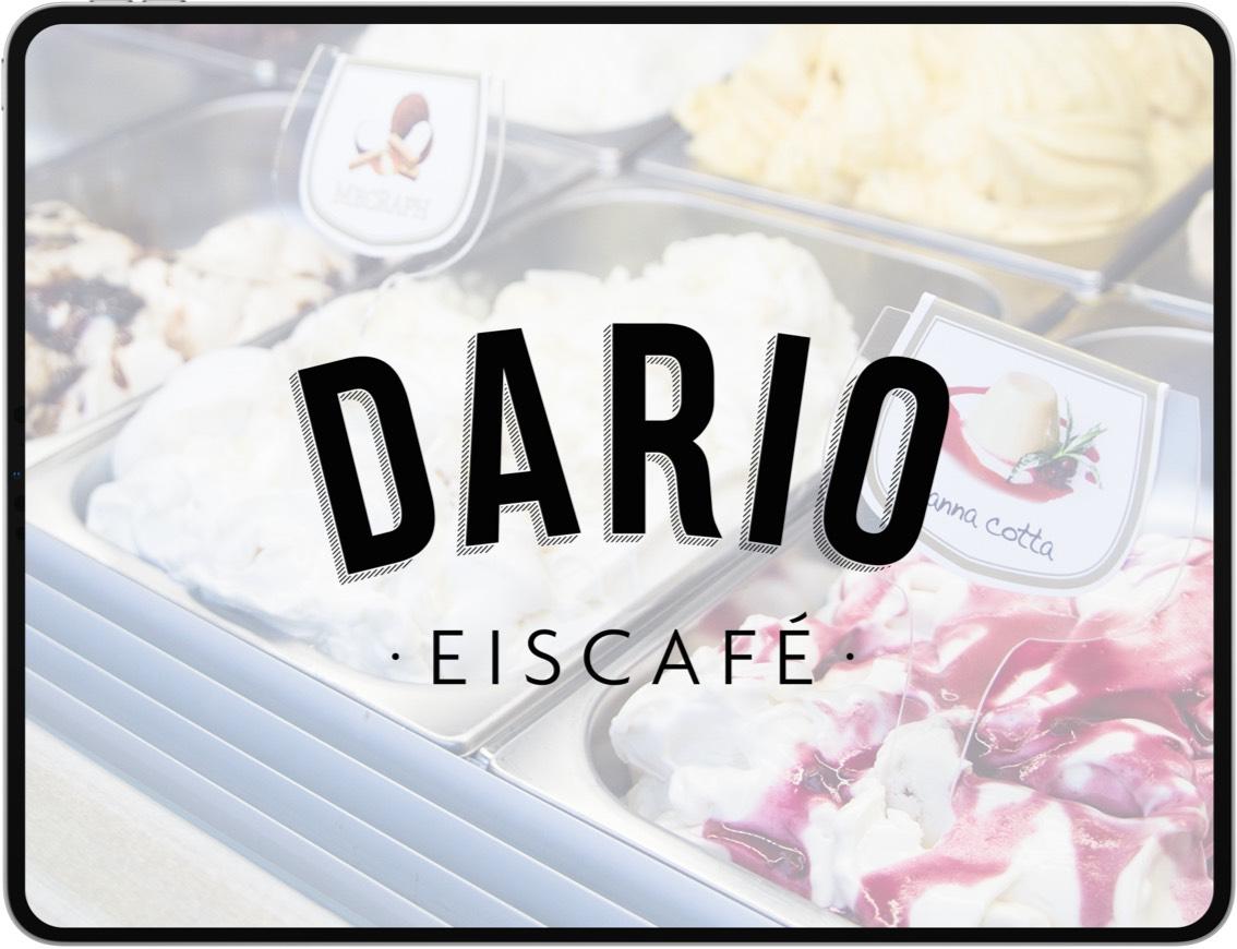 Dario Eiscafe – Logo