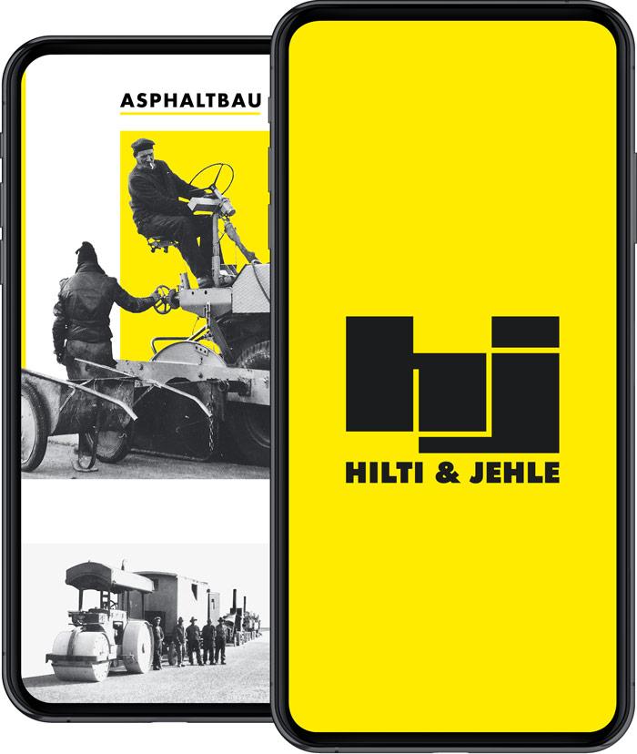 Hilti & Jehle – Unternehmensauftritt